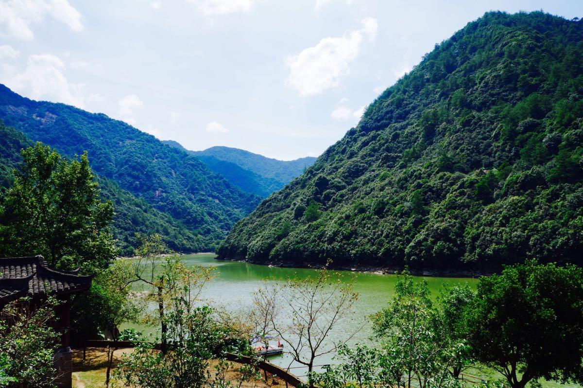 浙西三峡快艇飞舟旅游景点攻略图