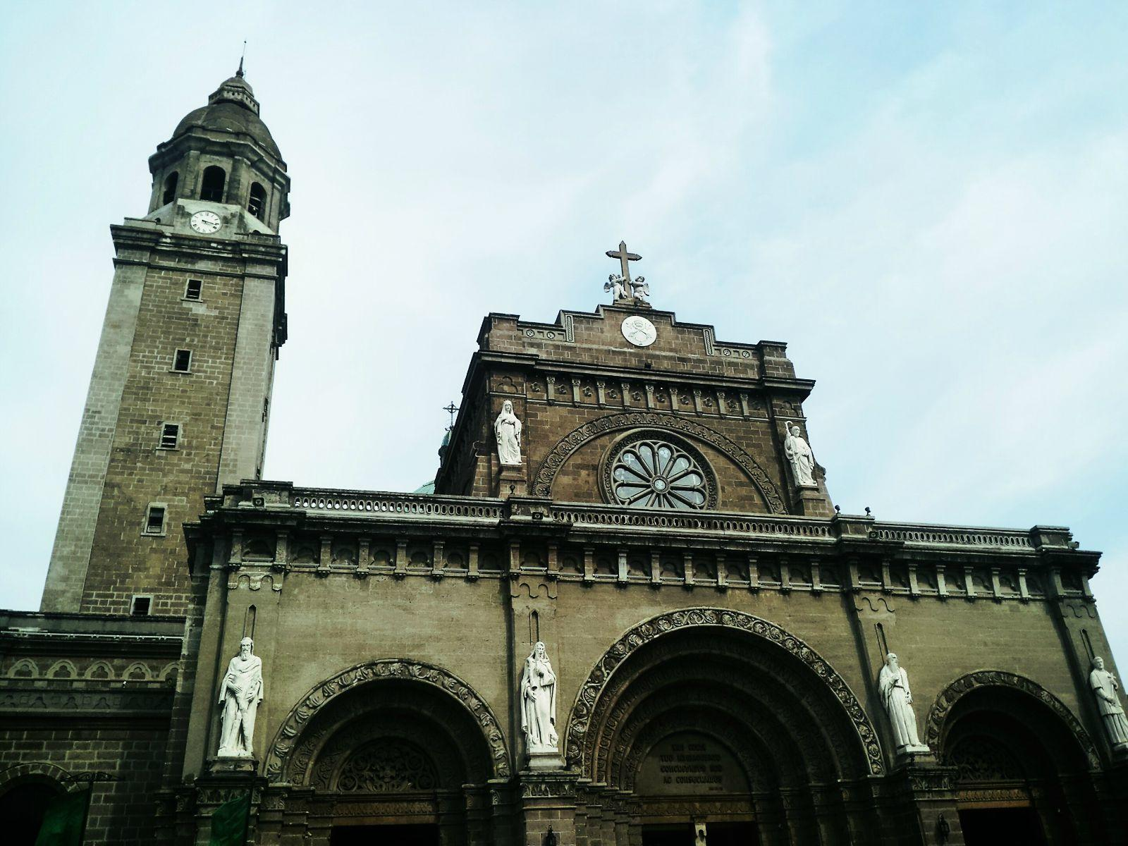 完全欧式建筑风格的大教堂
