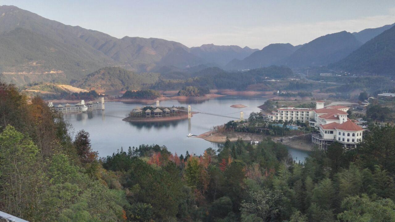 云和湖仙宫景区旅游景点攻略图