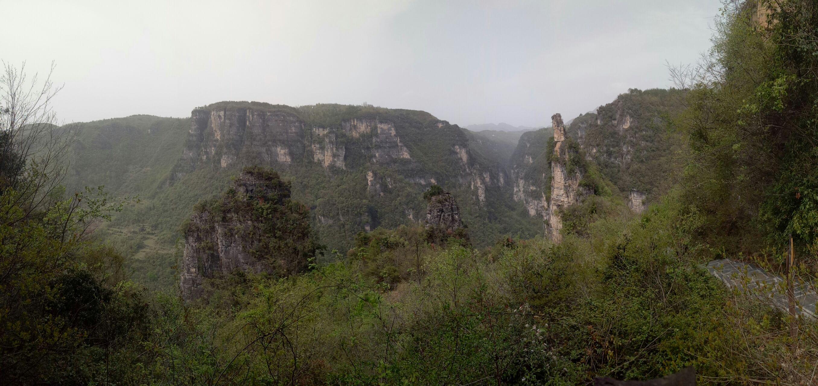 【携程攻略】保康九路寨生态旅游区景点,九路寨山脉