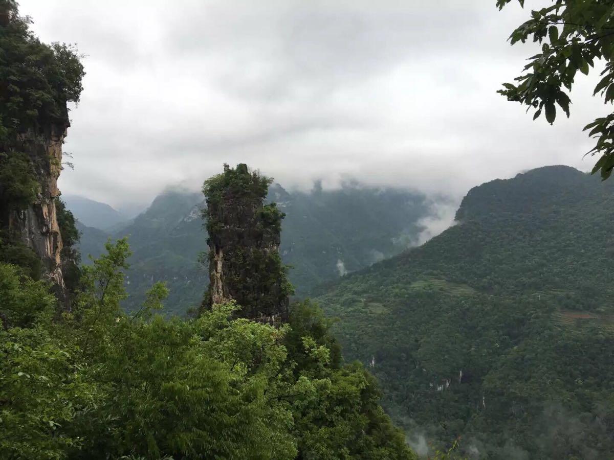 【携程攻略】保康九路寨生态旅游区景点,虽在开发建设