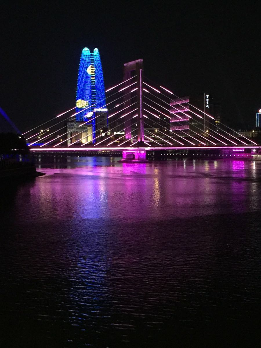 壁纸 大桥 桥 桥梁 夜景 900_1200 竖版 竖屏 手机