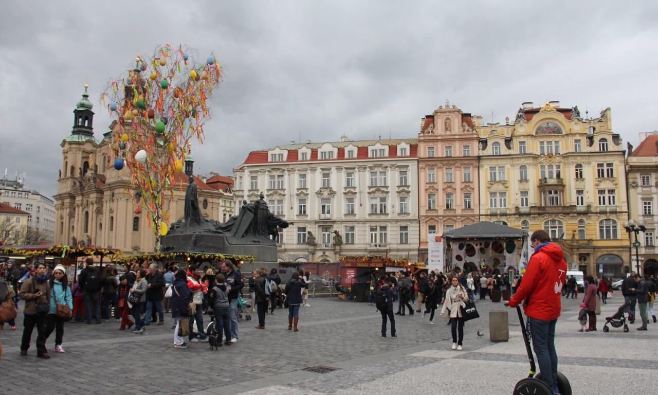 布拉格老城广场