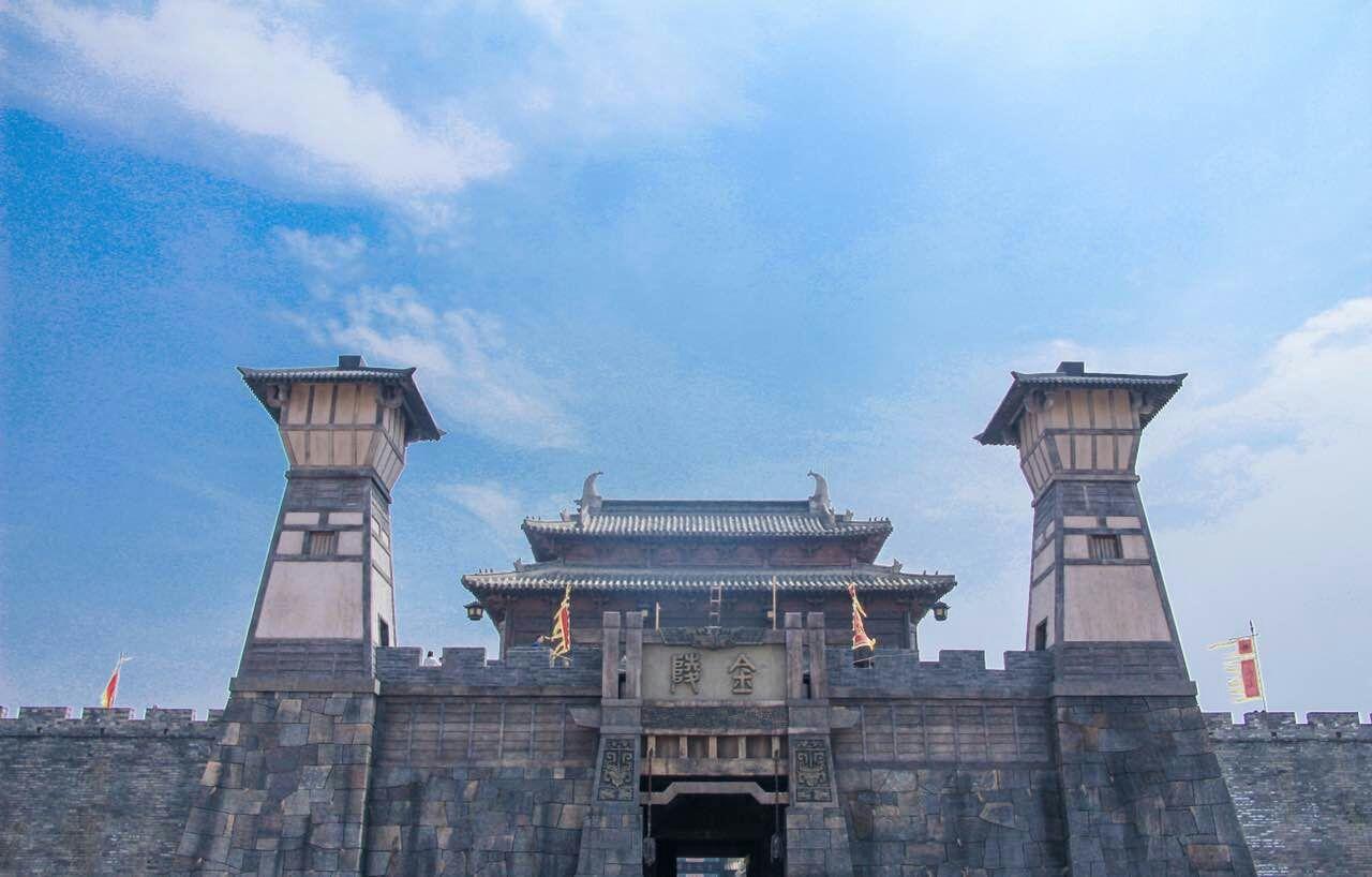 象山影视城是我在宁波