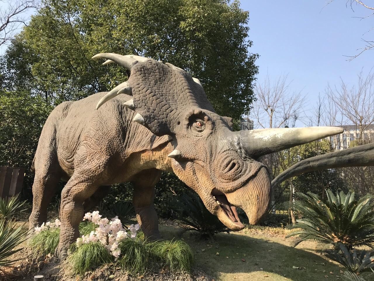 上海顾村恐龙园旅游景点攻略图