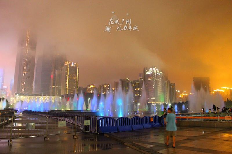广州夜光风景图片