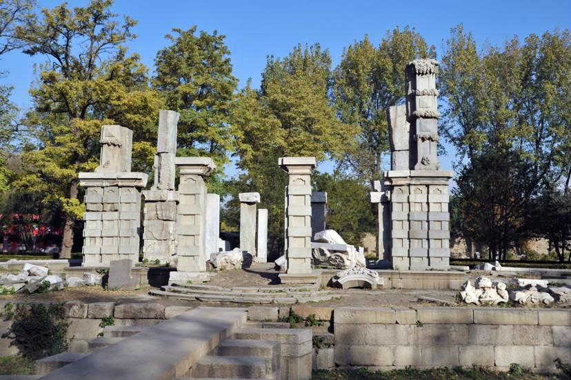 圆明园欧式建筑喷泉