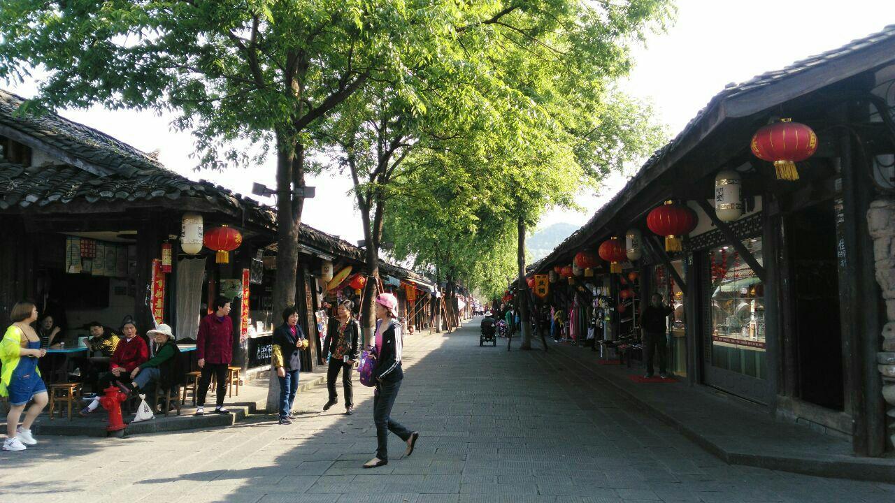 壁纸 风景 古镇 建筑 街道 旅游 摄影 小巷 1280_720