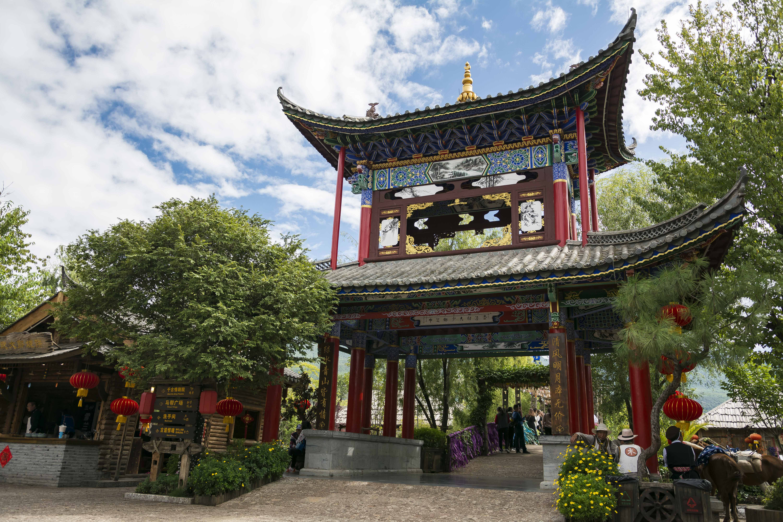 丽江宋城旅游区旅游景点攻略图