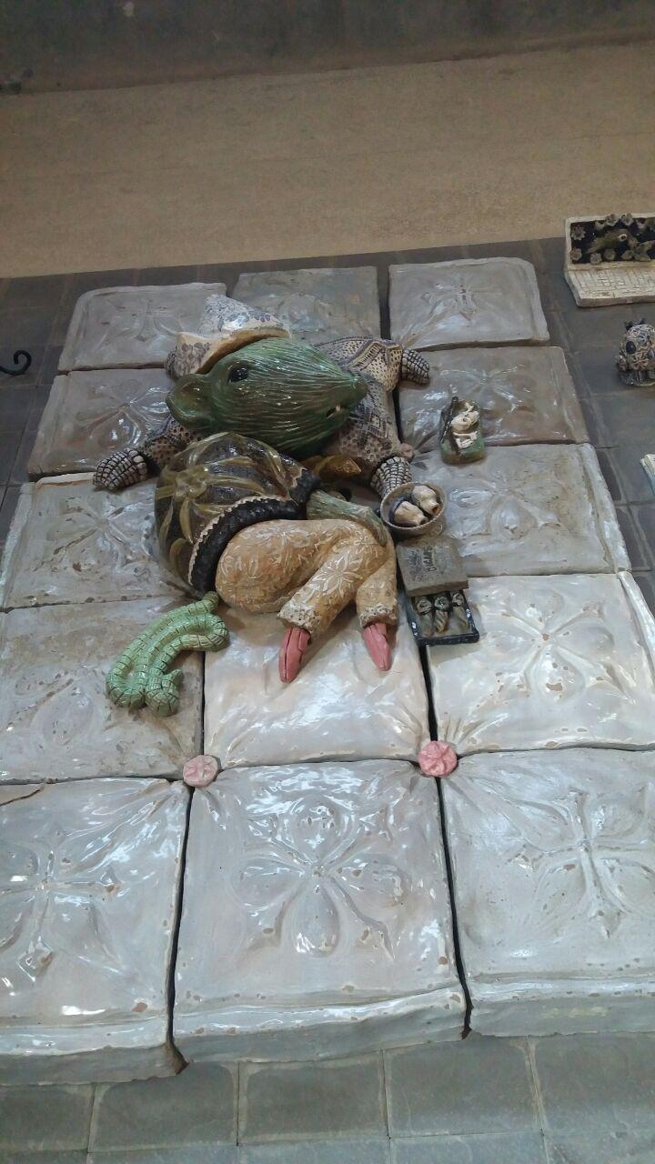 富平陶艺村是世界上最大的陶艺博物馆群,有着来自世界各地陶艺