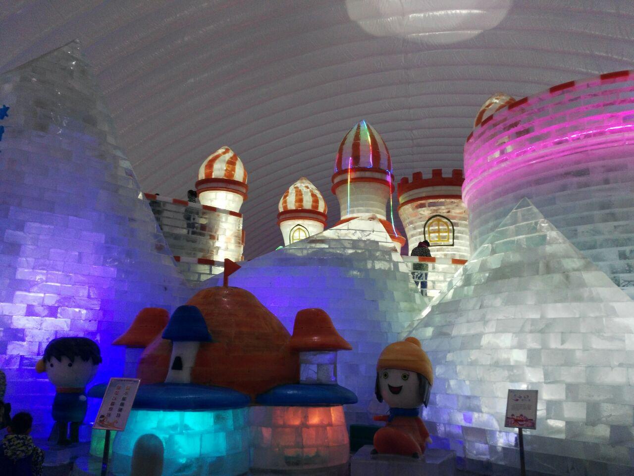 哈尔滨冰雪大世界室内冰雪主题乐园图片