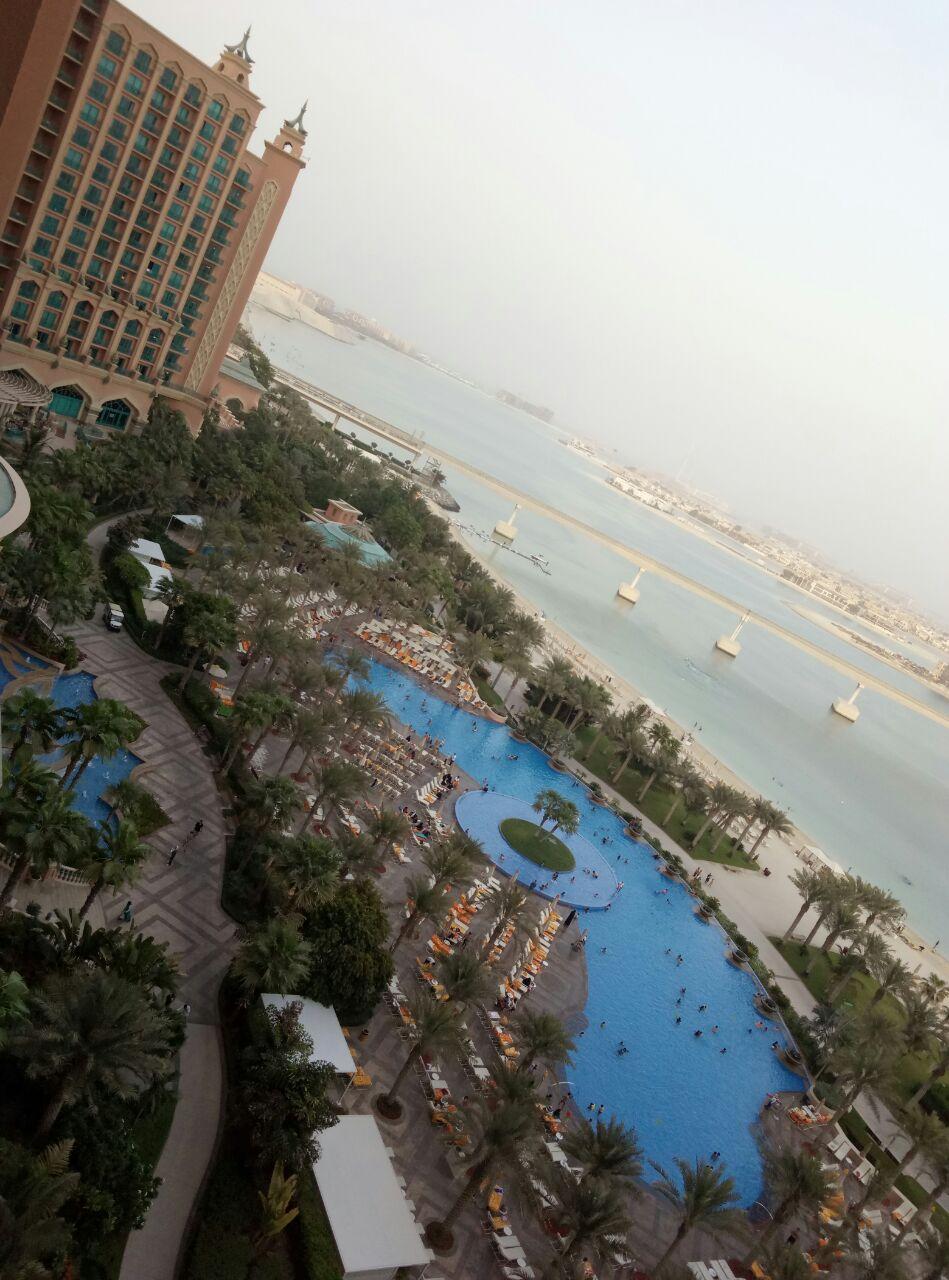 迪拜棕榈岛亚特兰蒂斯酒店