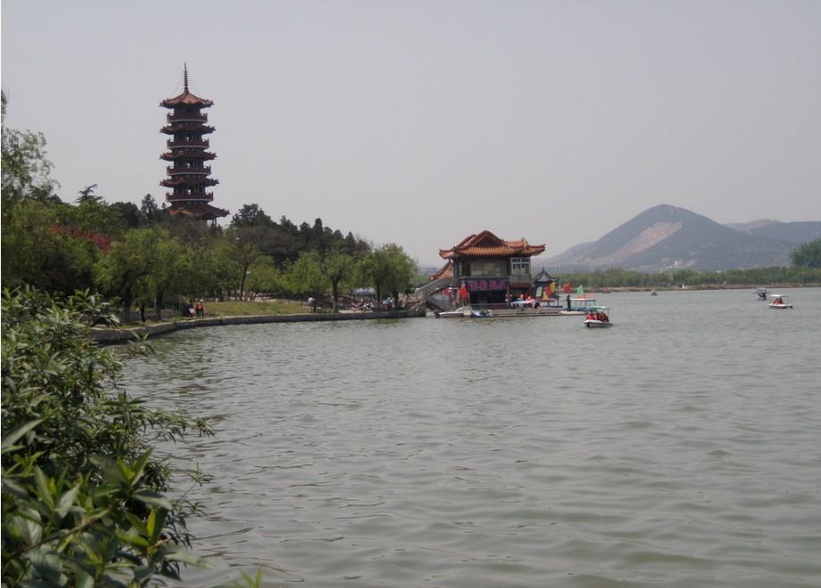 我的路线是徐州博物馆-云龙山-云龙湖,因为遇到下雪,所以我从博物馆