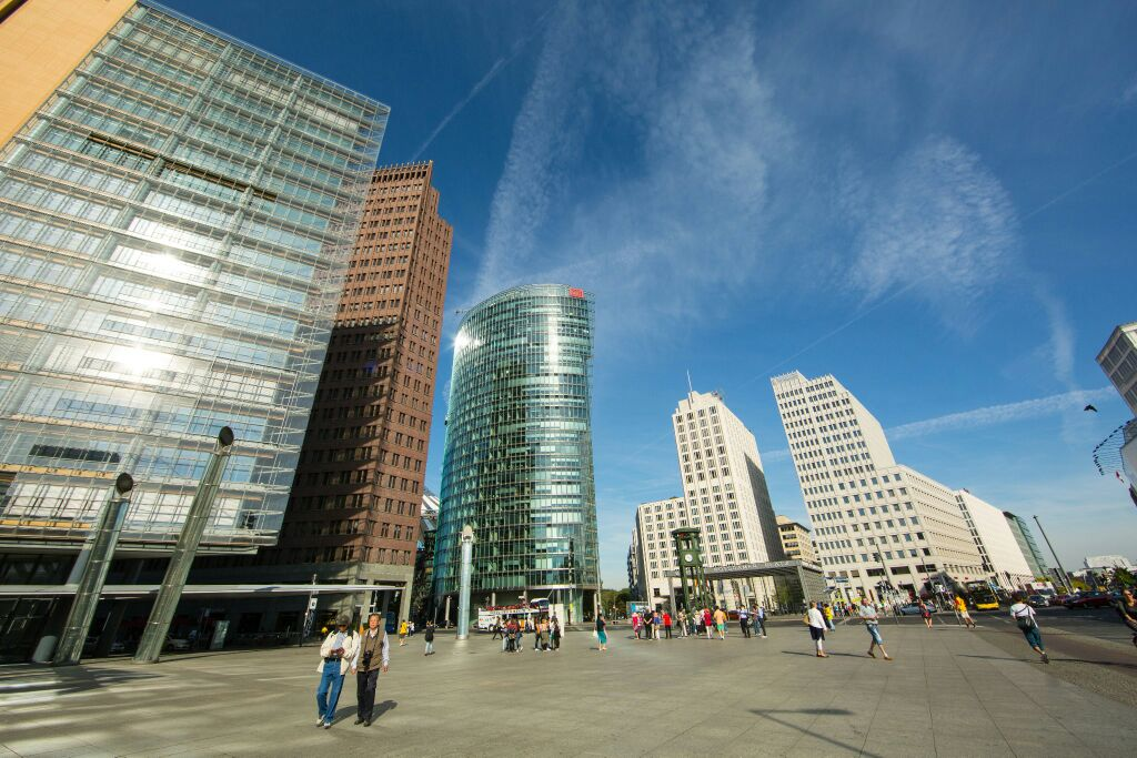 柏林波茨坦广场好玩吗,柏林波茨坦广场景点怎么样图片