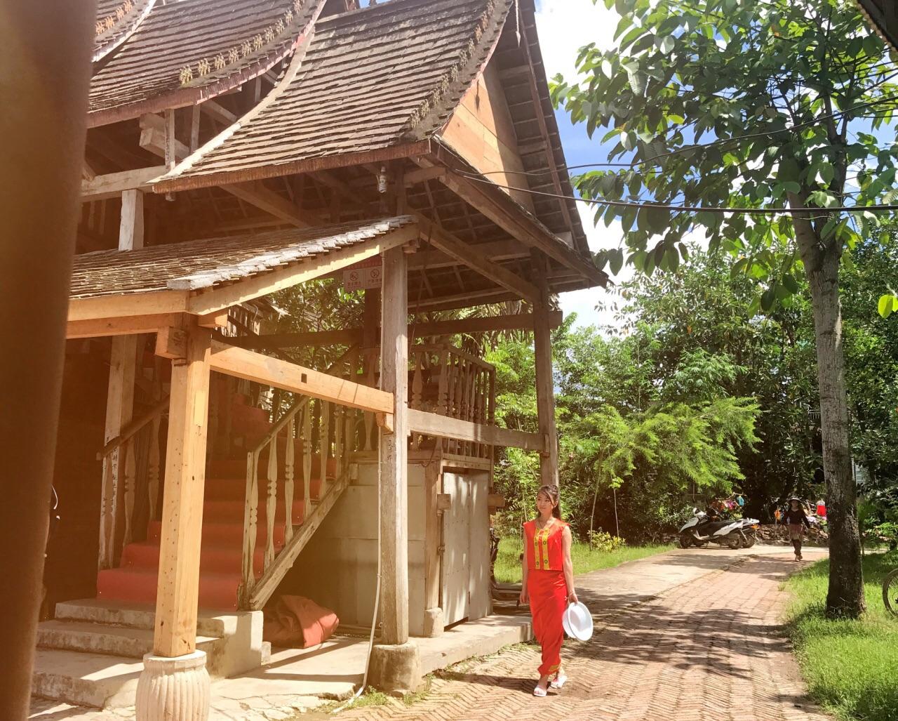 在这里你可以从傣家民居到风土人情深刻感受傣族文化.图片