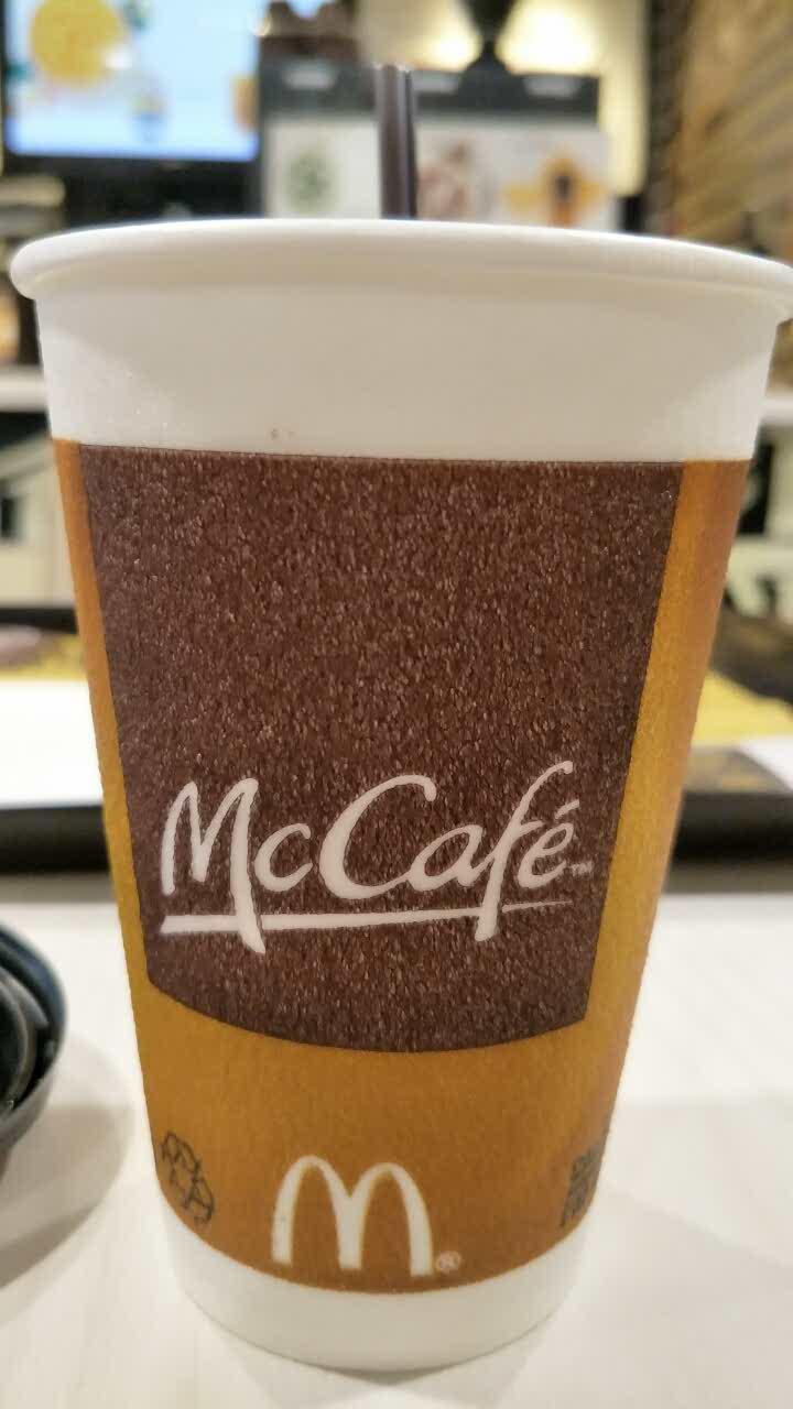 麦当劳咖啡杯子_麦当劳(翠微百货龙德广场店)