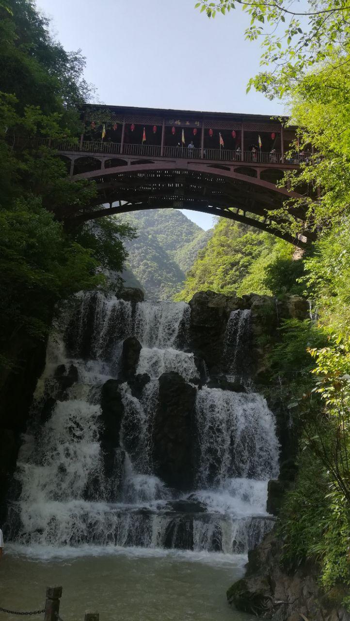 【携程攻略】保康五道峡风景区景点,到了售票处,远远.