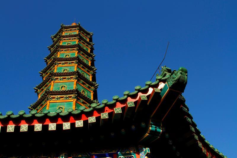 佛教塔俯视ps素材