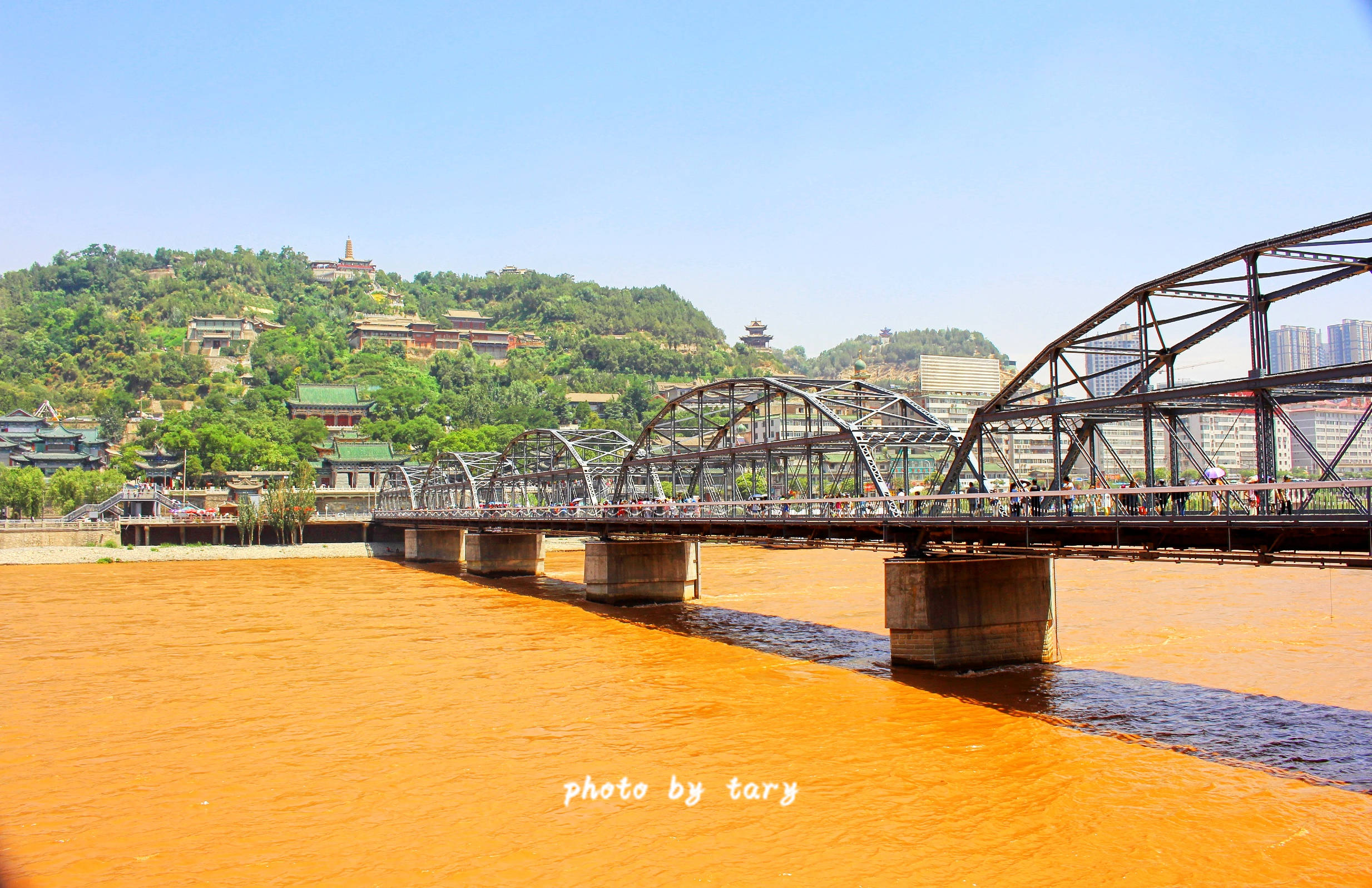 兰州黄河铁桥又叫中山桥,1942年为纪念孙中山先生而改名的,位于兰州