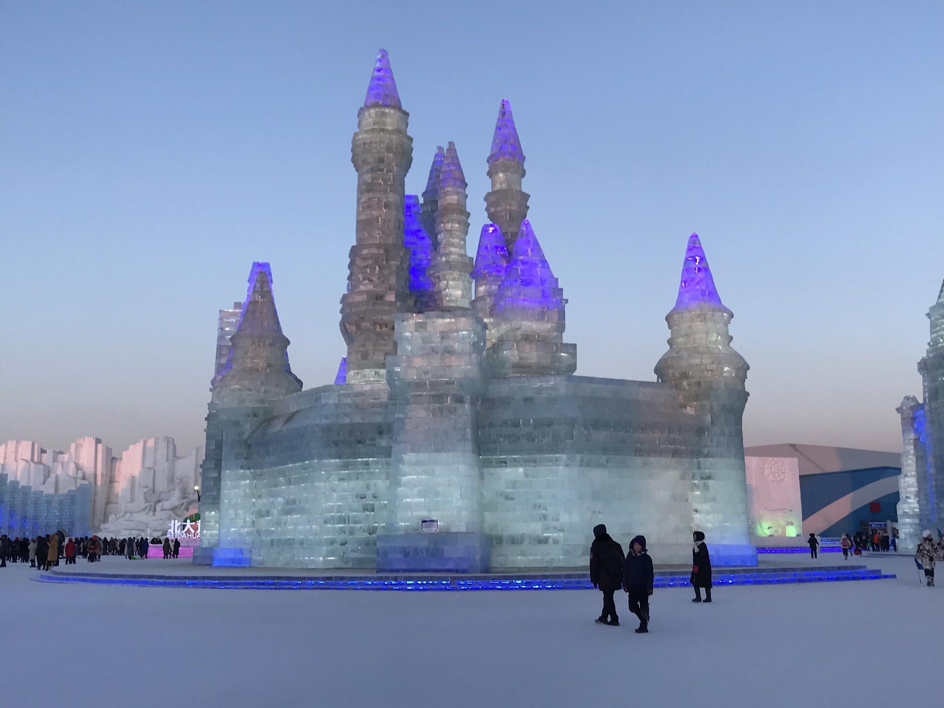 2019哈爾濱冰雪大世界室內冰雪主題樂園_旅游攻略___,