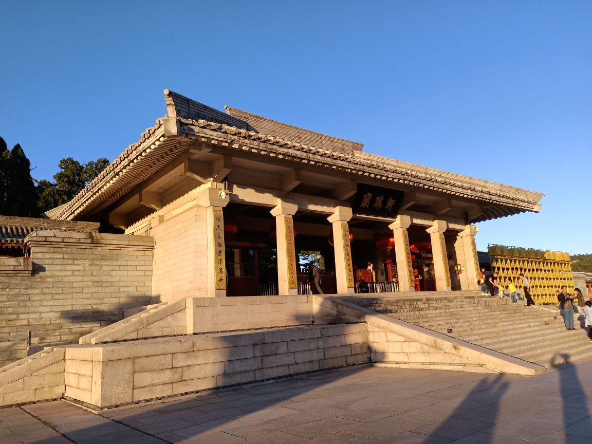 黄帝陵旅游景点攻略图