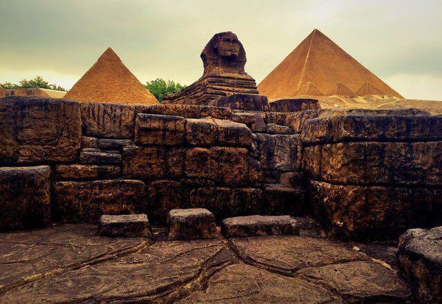 非洲著名建筑手绘