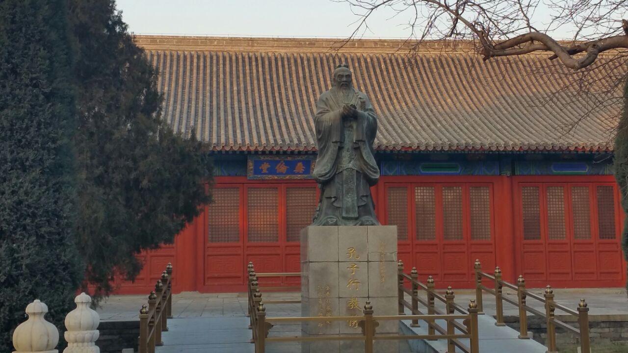 【携程攻略】北京国子监景点,国子监紧邻北京孔庙,是