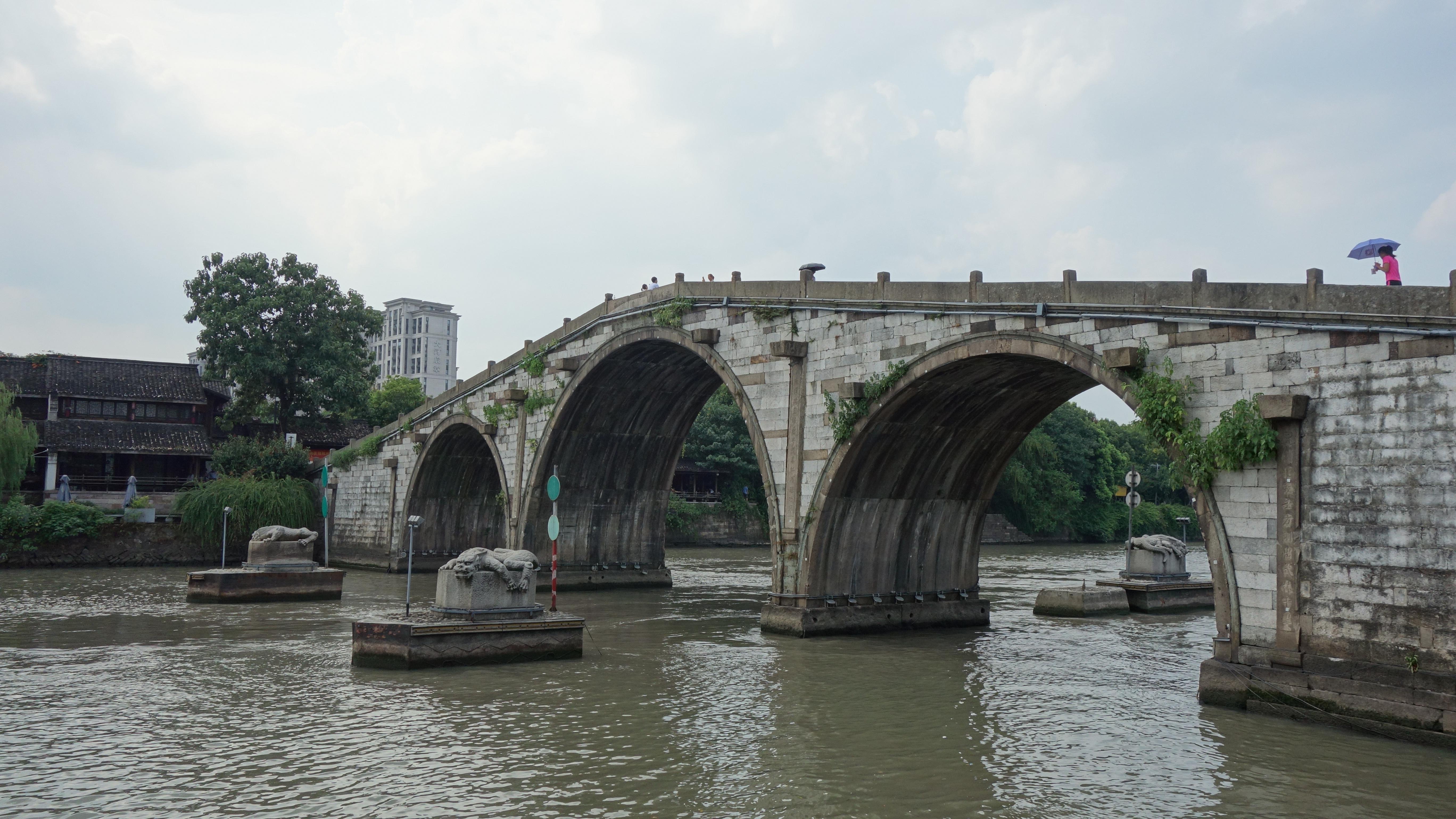 壁纸 风景 古镇 建筑 旅游 桥 摄影 5472_3080