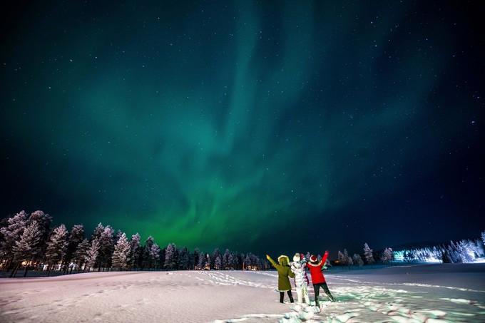 【mon小妖】遇见欧若拉---芬兰北极圈自驾极光之旅(爱沙尼亚/芬兰图片