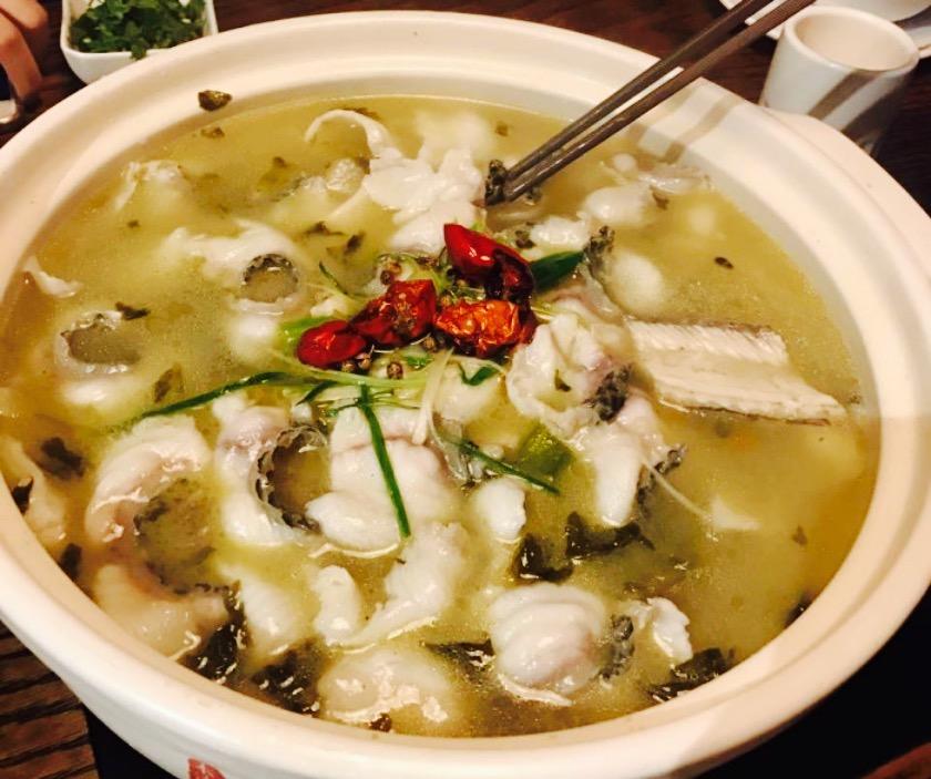 本清素·我家酸菜鱼(南平店)旅游景点攻略图