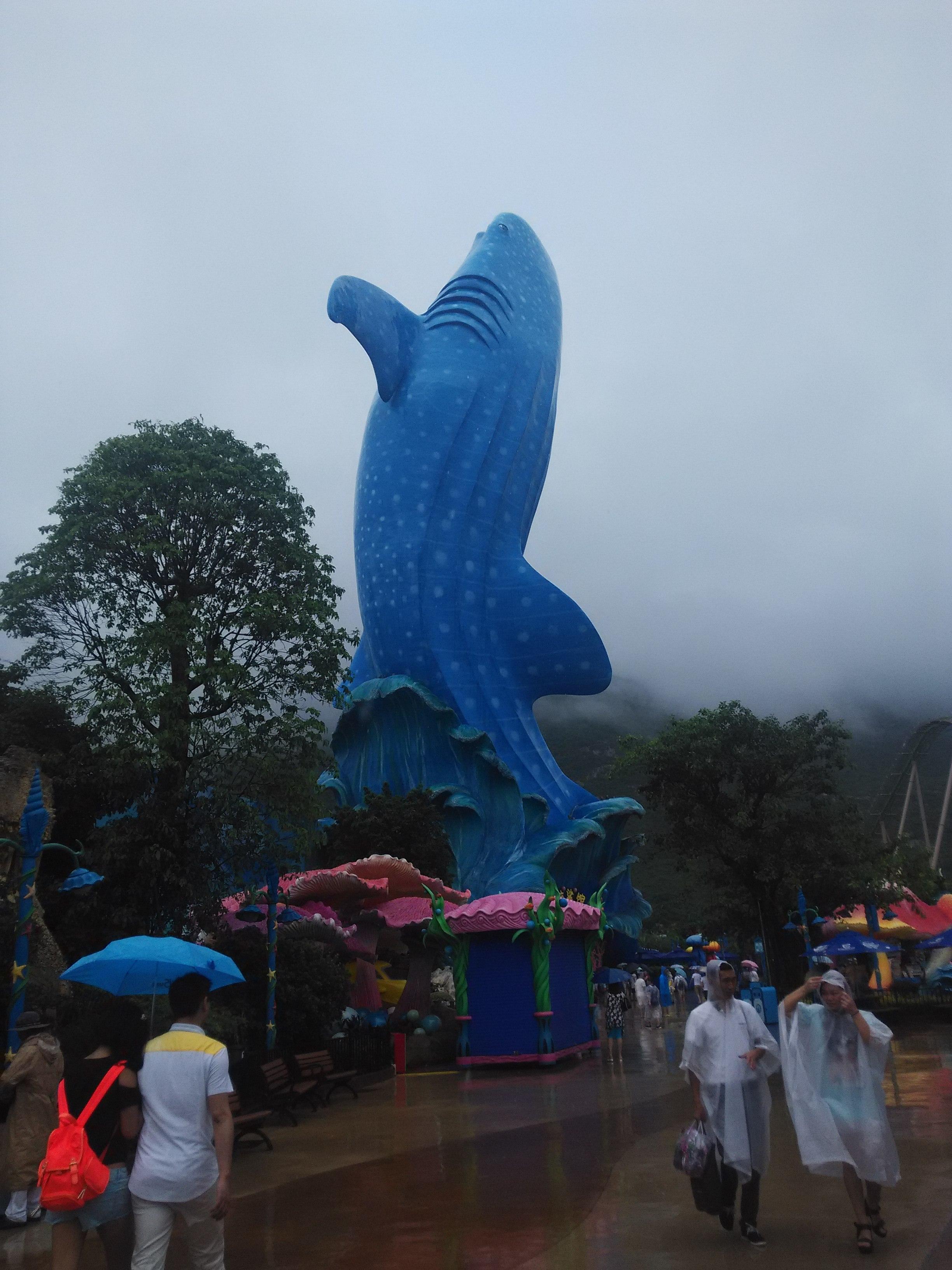 位于珠海横琴长隆国际海洋度假区内,是全球较大的海洋动物主题公园图片