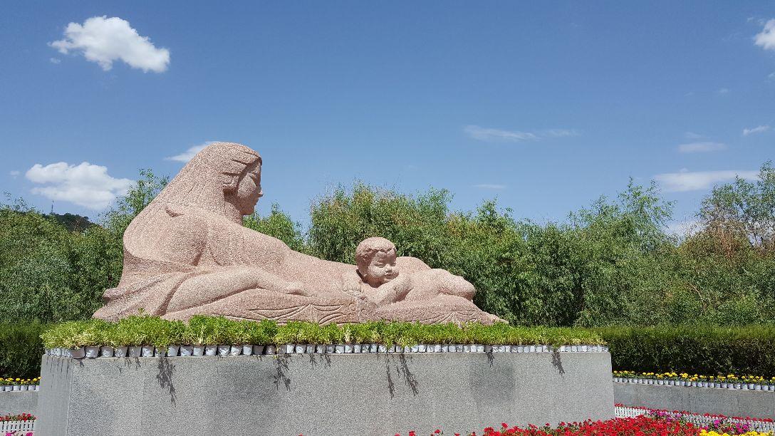 【携程攻略】兰州黄河母亲雕塑好玩吗,兰州黄河母亲样