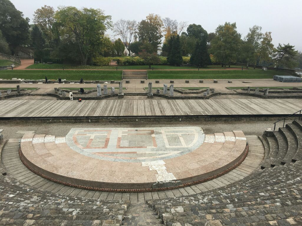里昂古罗马大剧院图片