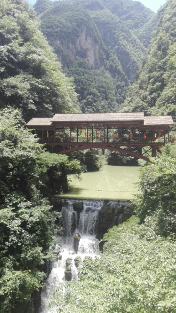 【携程攻略】保康五道峡风景区景点,景色一般,瀑布都!