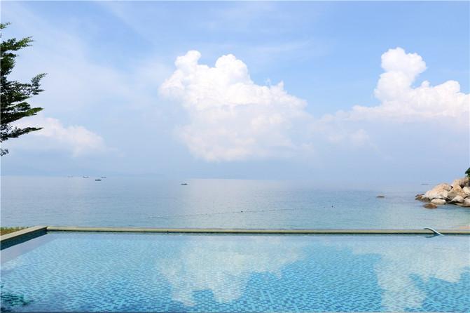 遇见深圳最美的别墅,你身边的的马尔代夫外墙面积沙滩图片