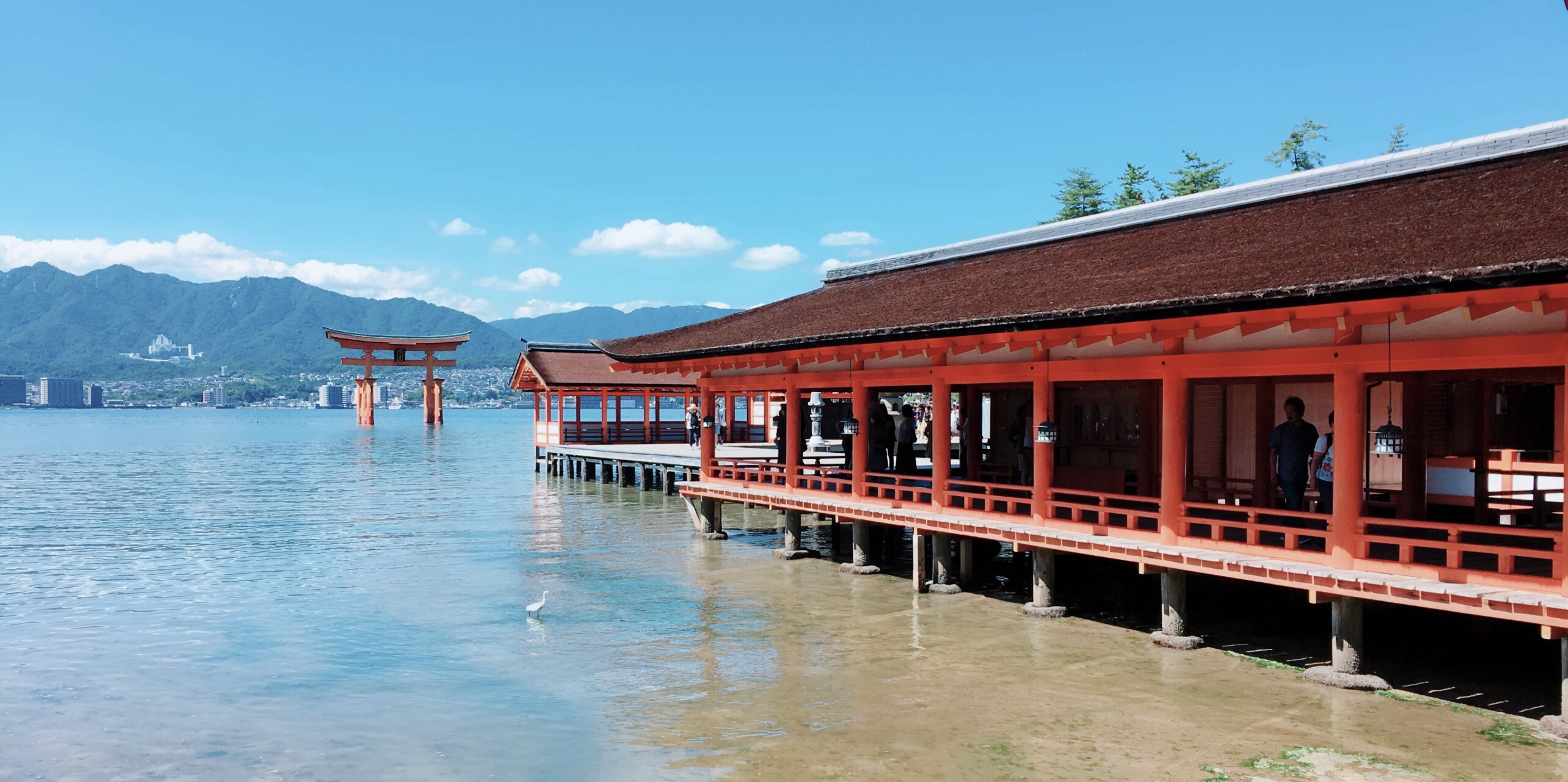 日本旅游地�_严岛神社旅游景点攻略图