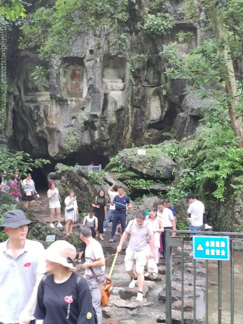 杭州王村(飞来峰)景区旅游景点攻略图安吉龙灵隐一日游攻略图片