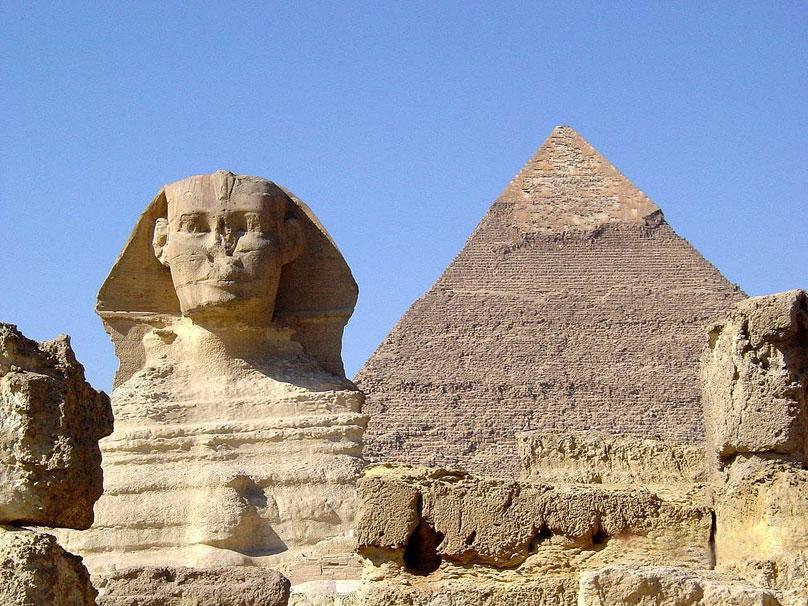 埃及金字塔卡通