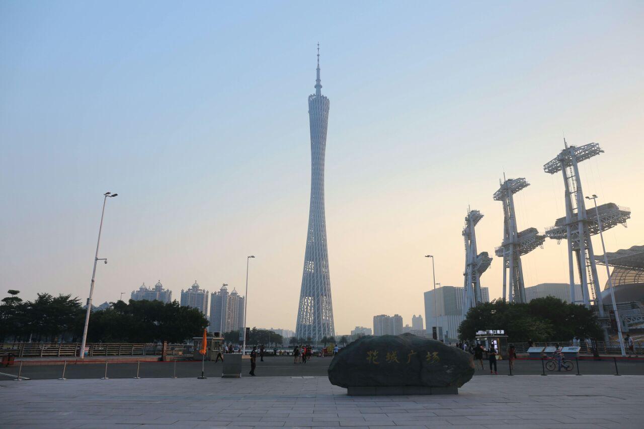 广州塔旅游景点攻略图