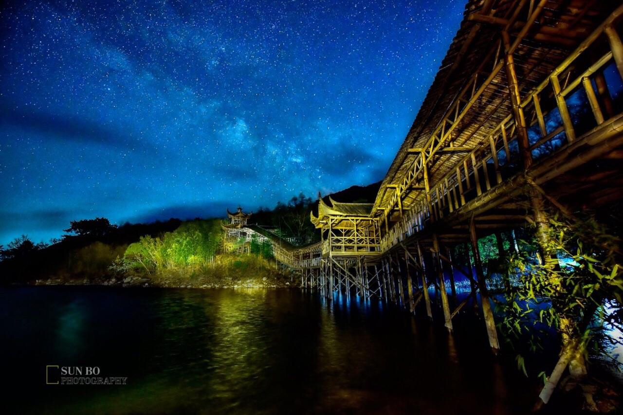 【携程攻略】海阳云顶自然风景旅游区景点,夜晚在云顶