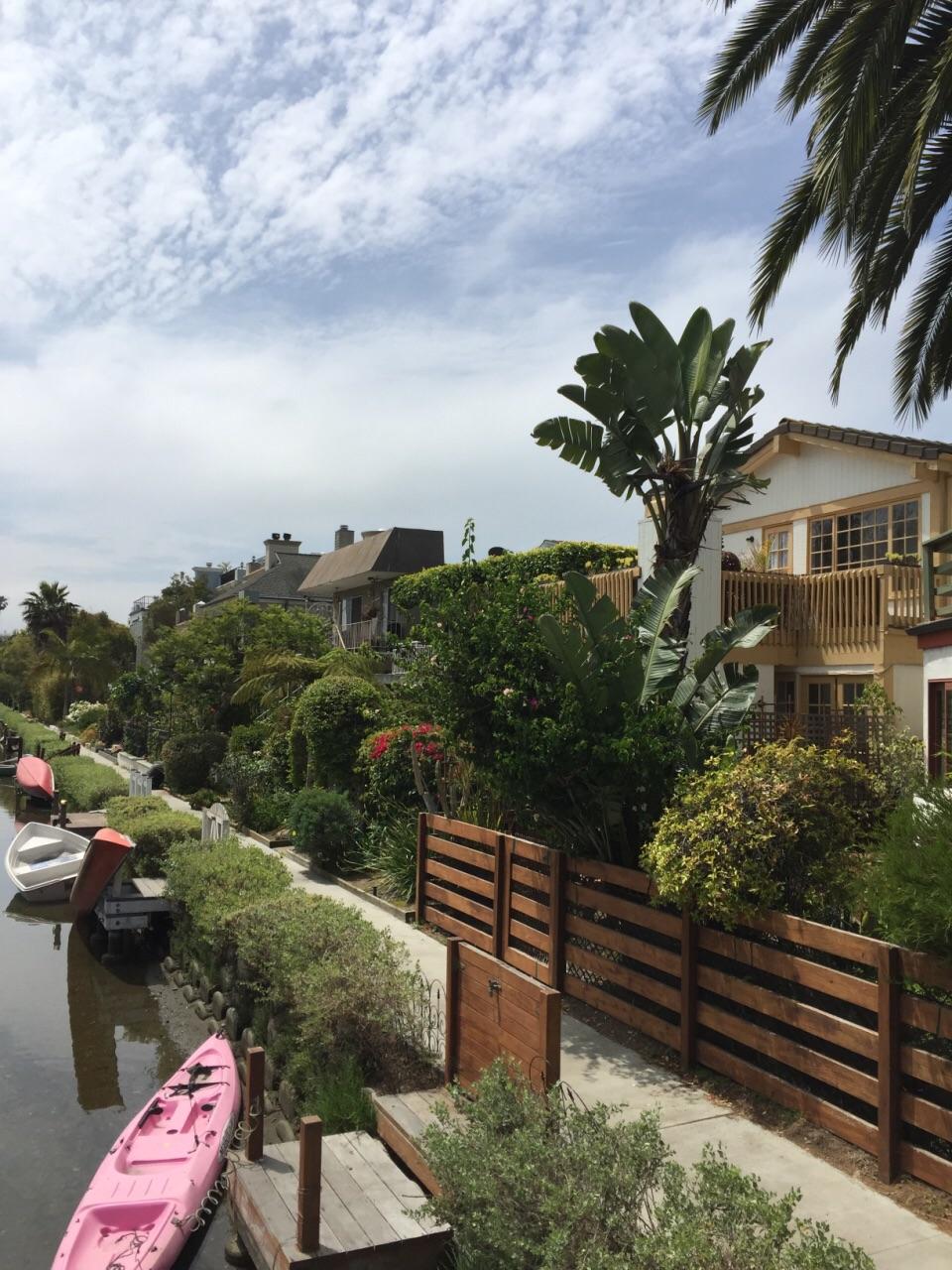 洛杉矶威尼斯河道