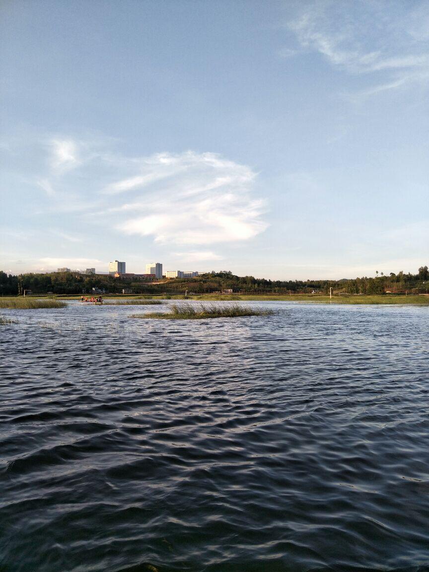 浪漫草海风景区