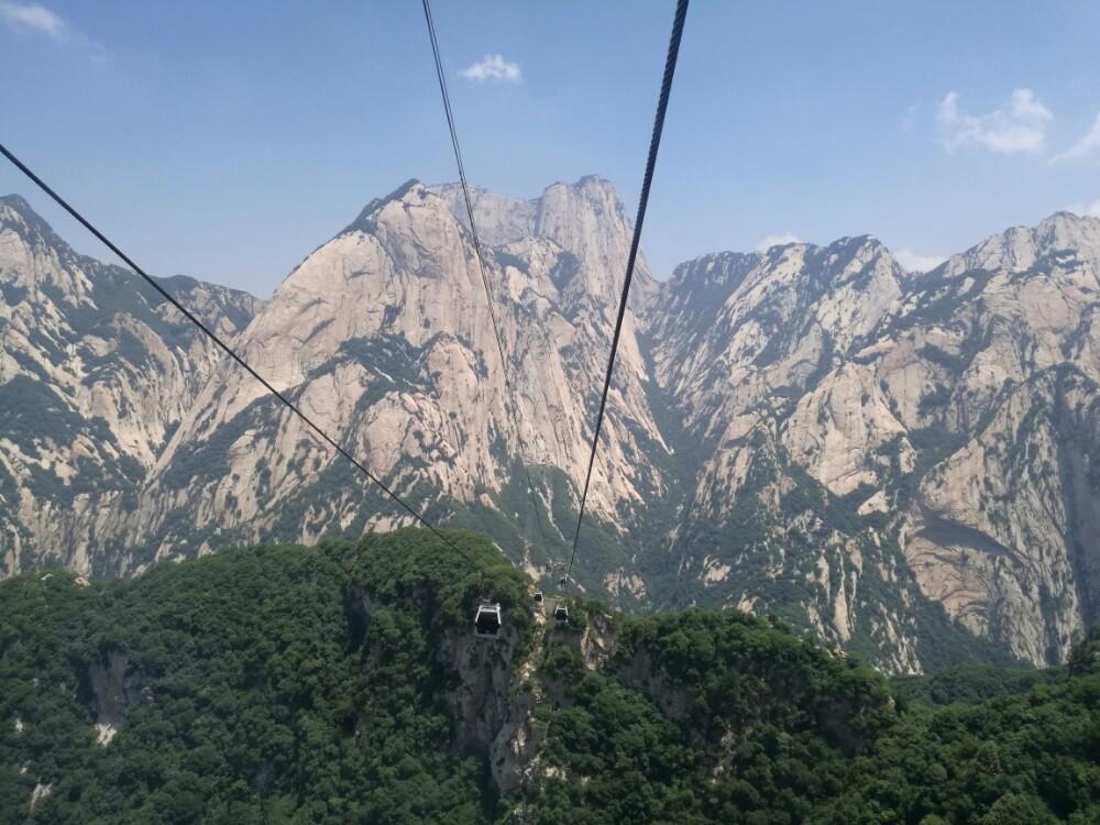 【携程攻略】陕西华山景点,西岳华山,名不虚传!山势图片