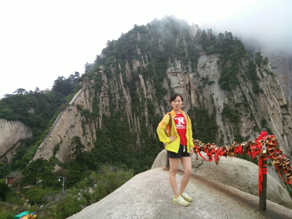 【携程攻略】华山华山景点,风景秀美,值得一去,从玉泉图片