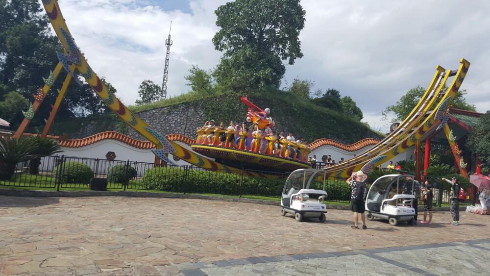 桂林乐满地主题乐园图片