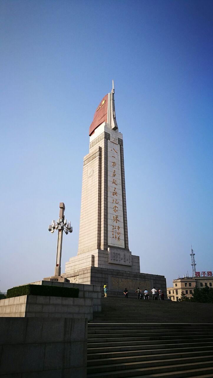 八一起义纪念塔珍藏图片