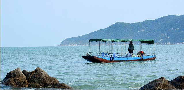 南澳岛旅游游艇之休闲木叶攻略出海一日游攻略传说渔船图片