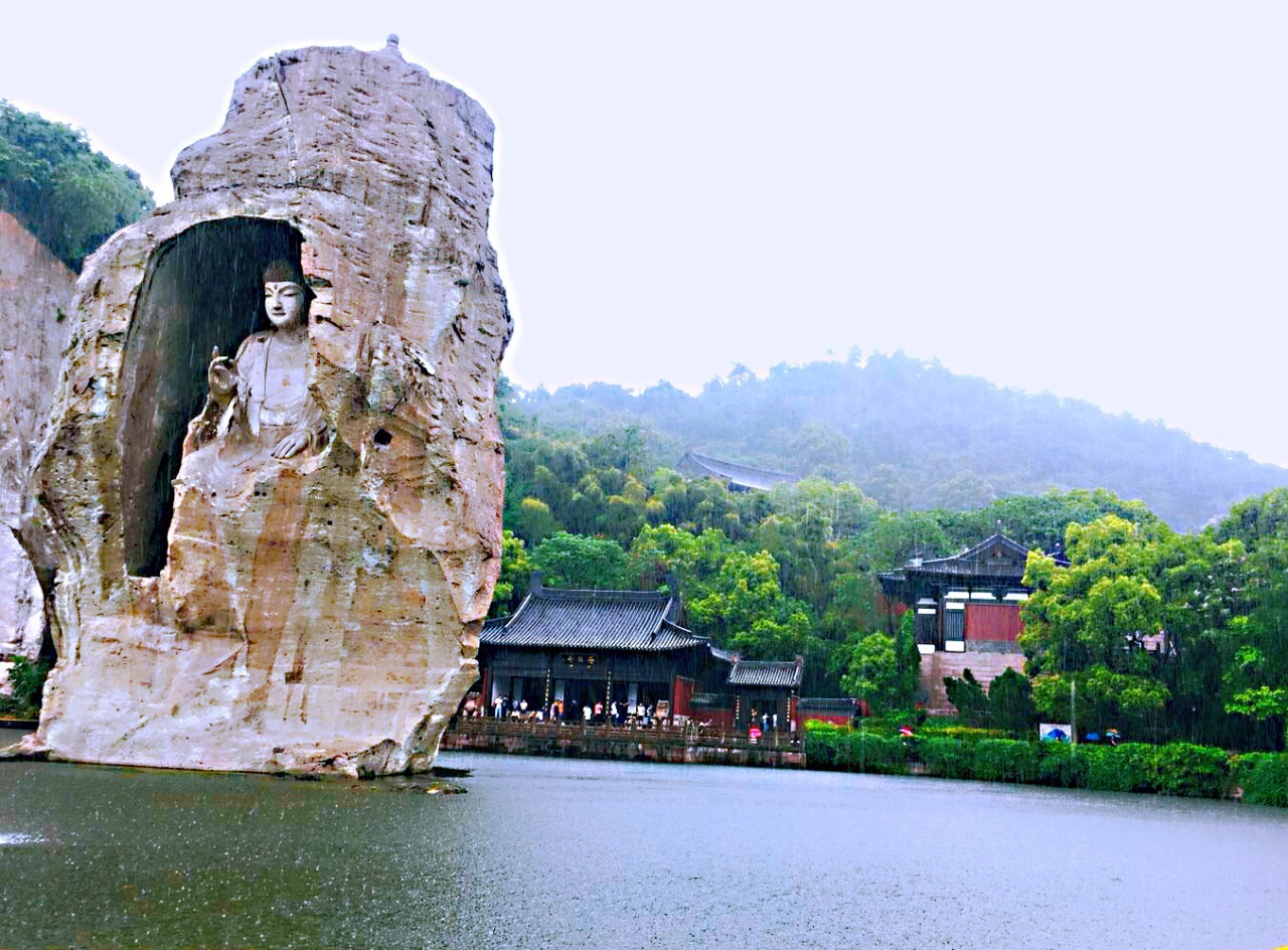 绍兴柯岩风景区旅游景点攻略图