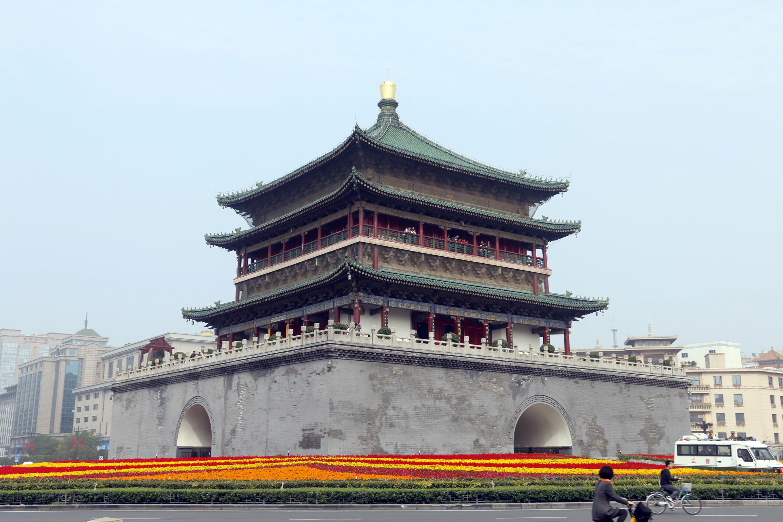 西安钟楼旅游景点攻攻略略图周末深圳图片