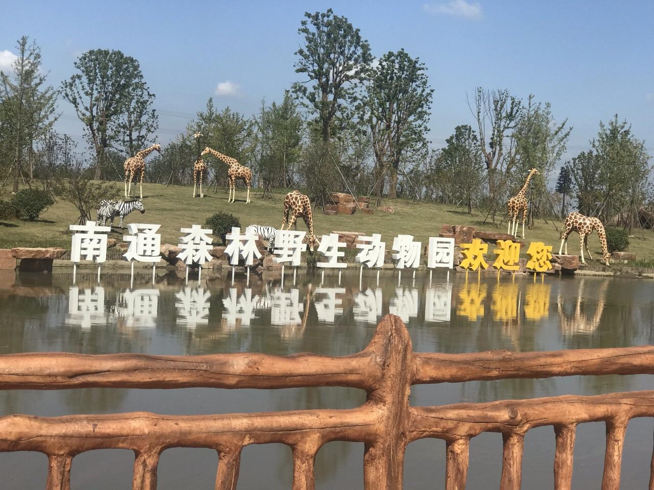 我给5分就为辛勤劳动付出的工作人员! 个人感觉比上海动物园大多了,给动物很宽松很舒适的生活环境,动物生活区很人性化,绿化覆盖率高!上海动物园太小了,动物生活都挤在一起!南通森林野生动物园分步行区和车行区,车行区的大型动物很多,建议大家自驾开车进去,因为地方很大很大所以觉得动物少,其实很多动物呀!有的动物还要慢慢的运进来!大家得宽容,都是一步一步的完善起来!一只小动物最便宜得都是十几万一只,后期的维护费用很高,例如一只袋鼠一天就要喝鲜牛奶和鲜牛肉,大量的水果,有专人负责管理和照顾,不容易的!今天有